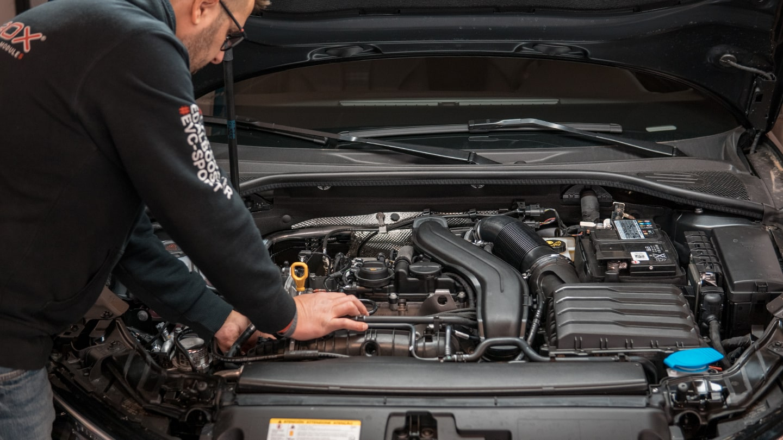 Installation chip tuning Maserati Levante