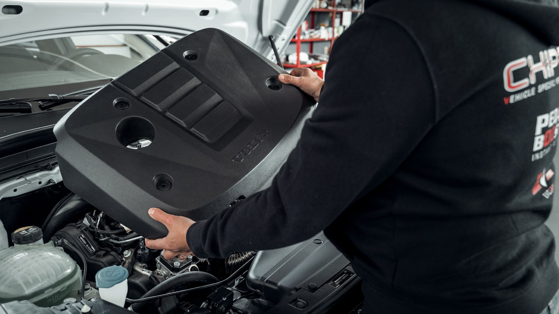 Installazione Centralina aggiuntiva Volvo XC40 D3 150cv