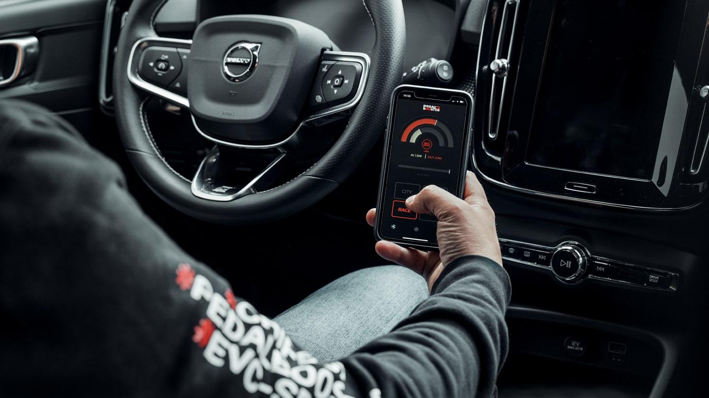 Centralina pedale Volvo XC40