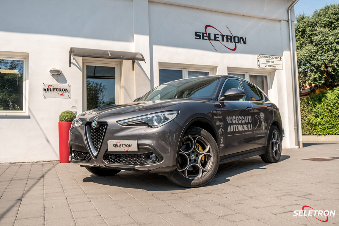Alfa Romeo Stelvio powered by Seletron Performance