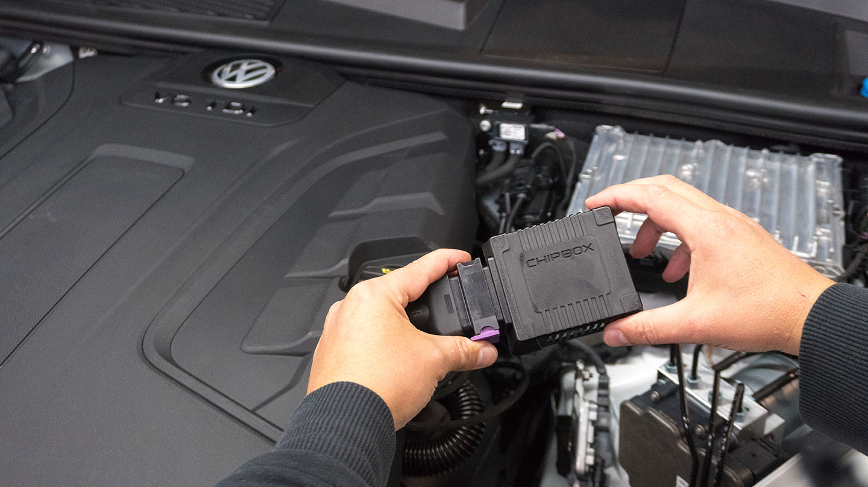 Chipbox VW Touareg 2018